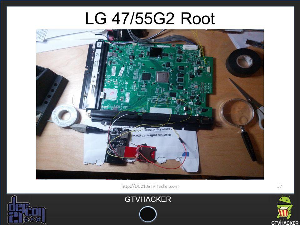 LG 47/55G2 Root http://DC21.GTVHacker.com