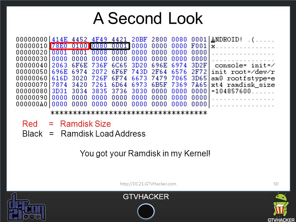 You got your Ramdisk in my Kernel!