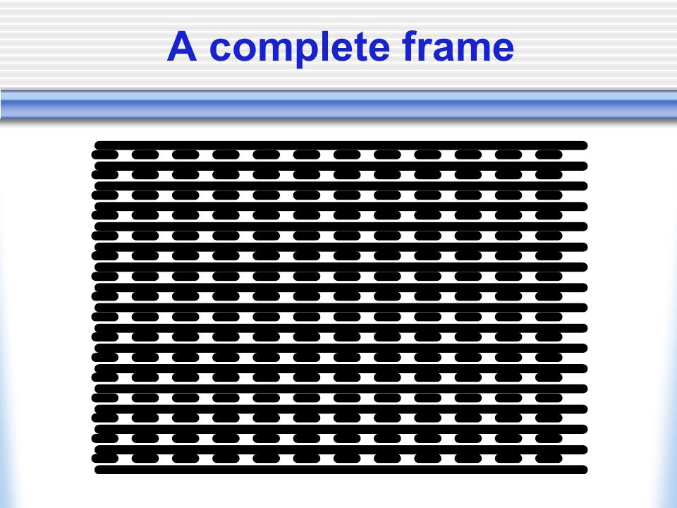 A complete frame