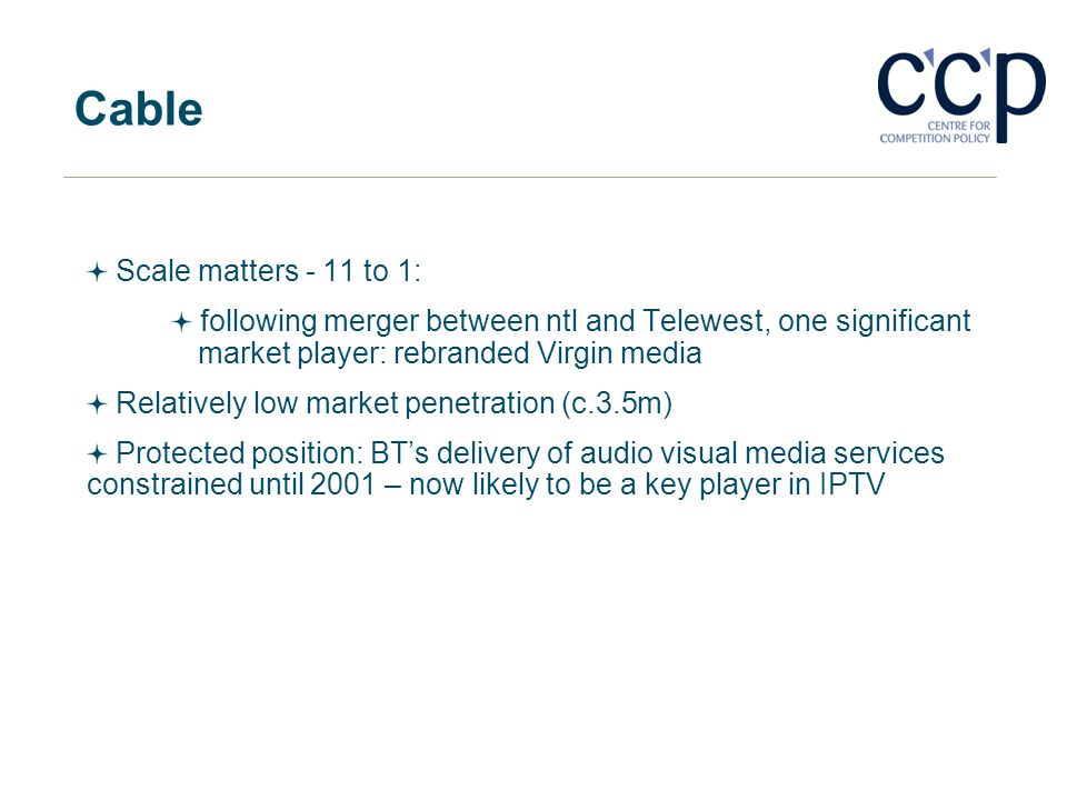 Cable Scale matters - 11 to 1: