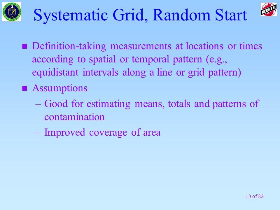 Systematic Grid, Random Start