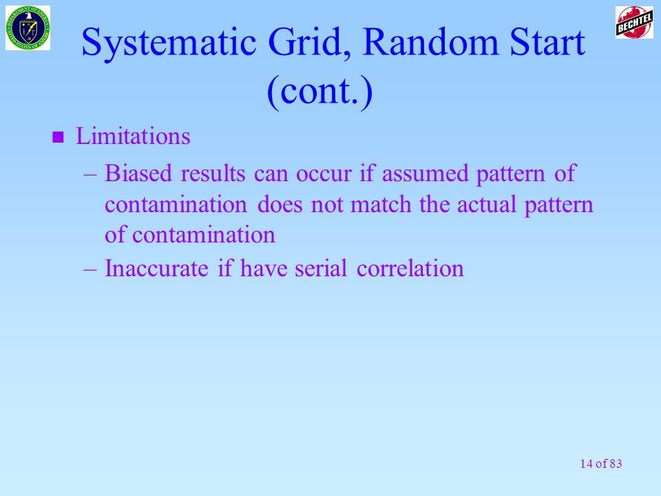 Systematic Grid, Random Start (cont.)