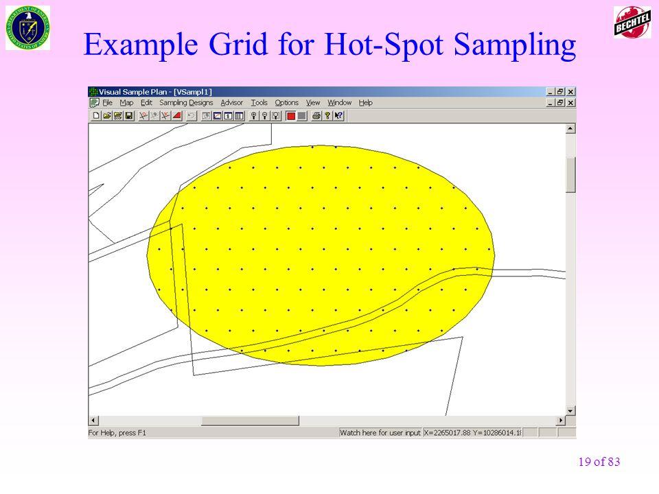 Example Grid for Hot-Spot Sampling