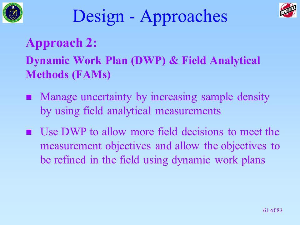 Design - Approaches Approach 2: