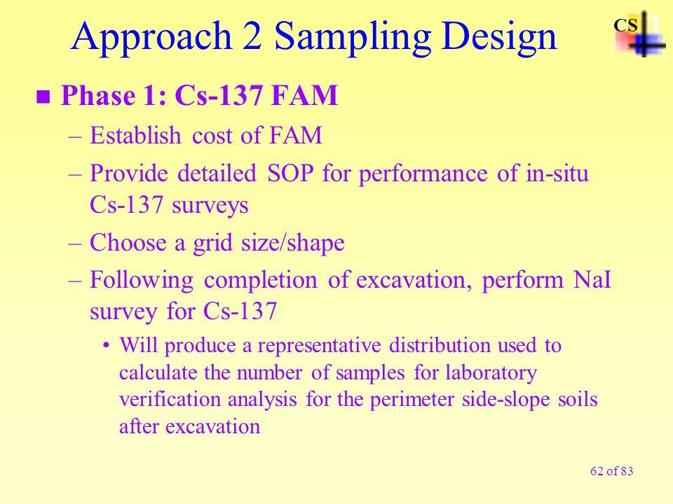 Approach 2 Sampling Design