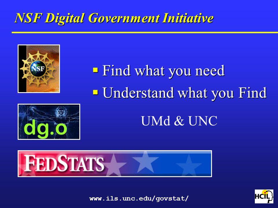 NSF Digital Government Initiative