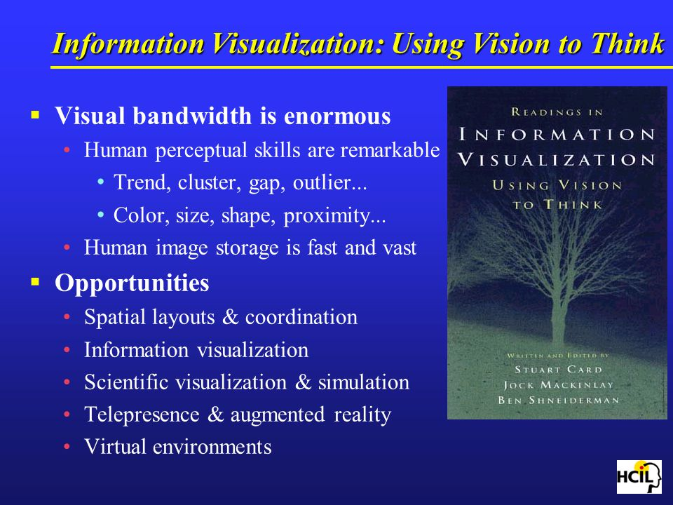 Information Visualization: Using Vision to Think