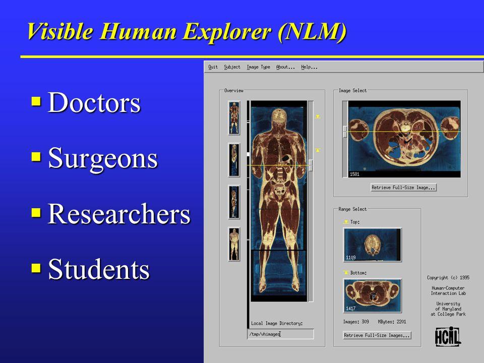 Visible Human Explorer (NLM)
