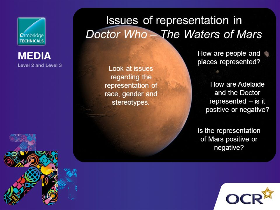 Issues of representation in Doctor Who – The Waters of Mars