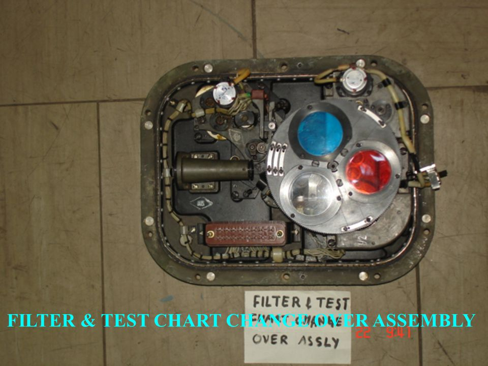 FILTER & TEST CHART CHANGE OVER ASSEMBLY