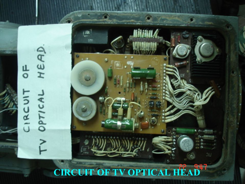 CIRCUIT OF TV OPTICAL HEAD