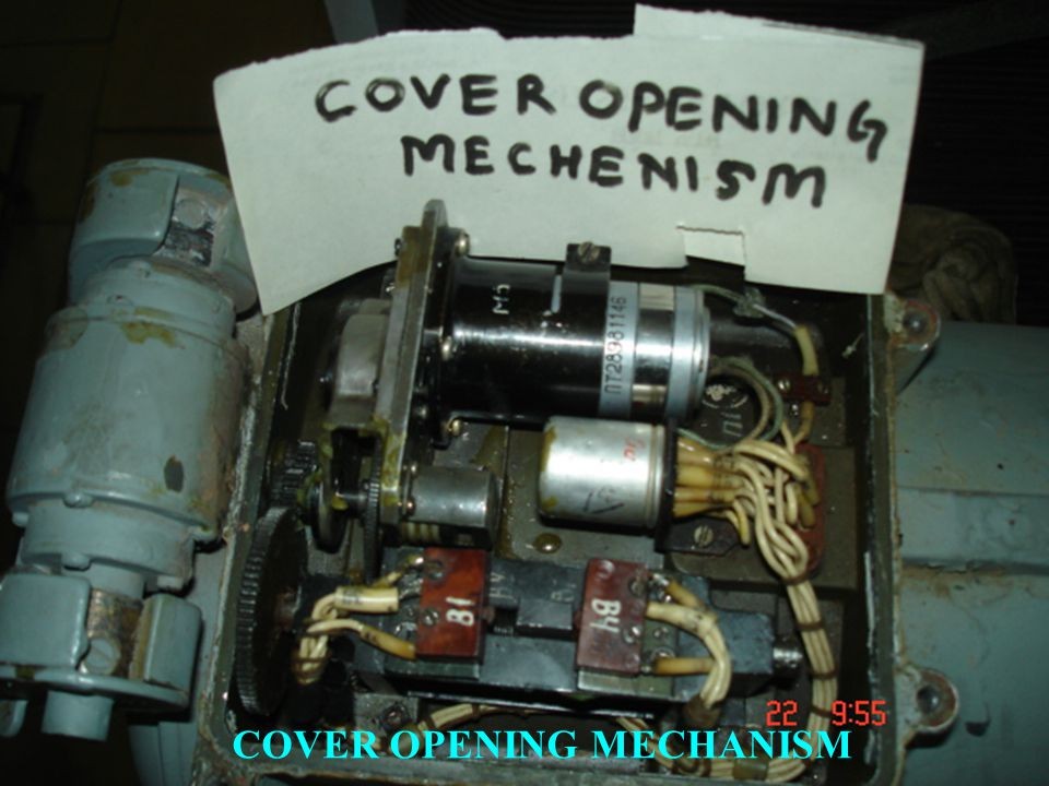 COVER OPENING MECHANISM