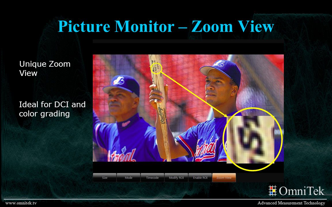 Picture Monitor – Zoom View