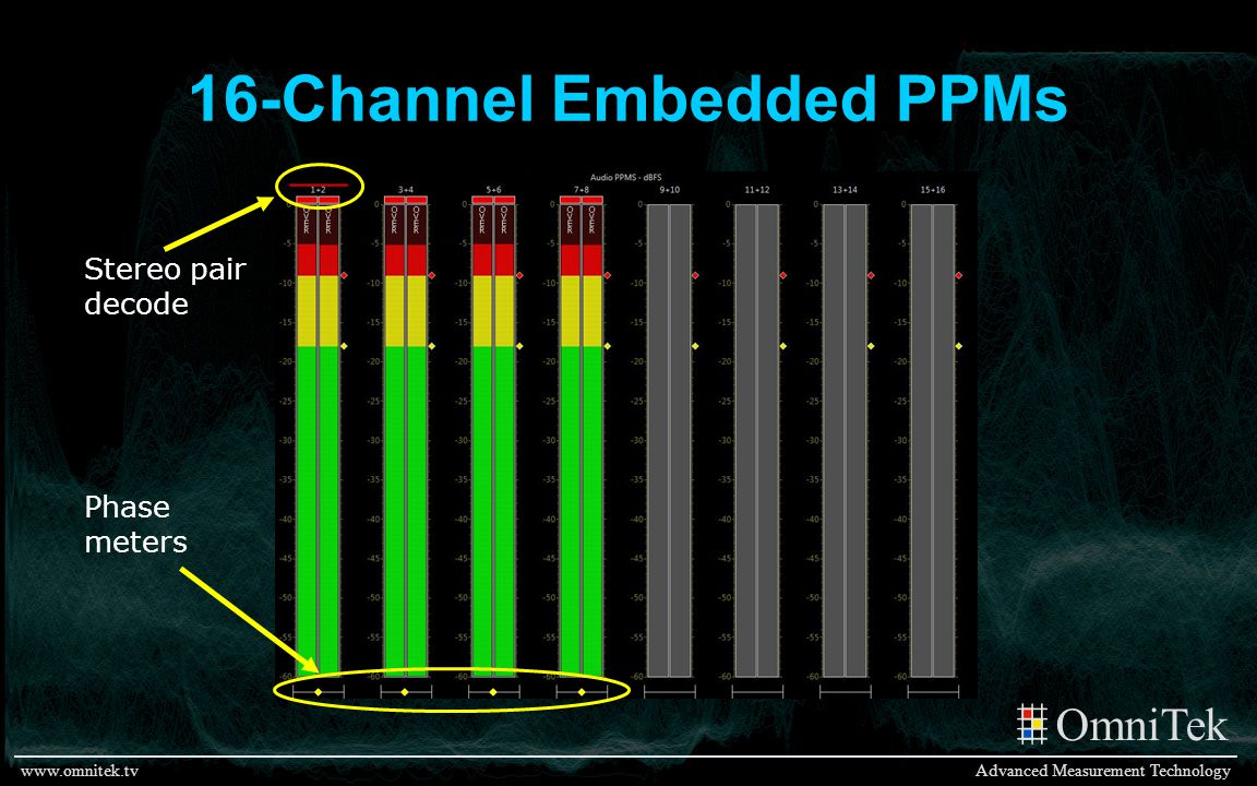 16-Channel Embedded PPMs