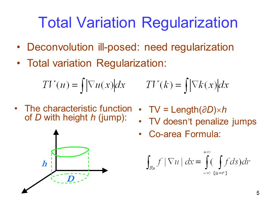 Total Variation Regularization