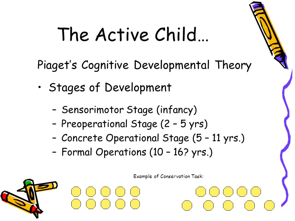 The Active Child… Piaget's Cognitive Developmental Theory