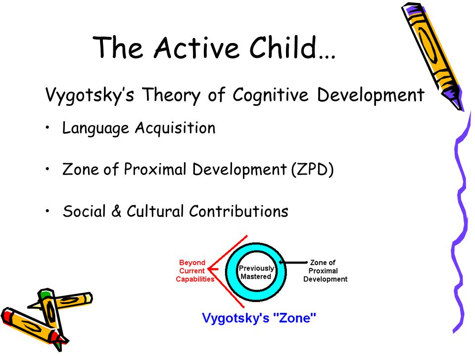 The Active Child… Vygotsky's Theory of Cognitive Development