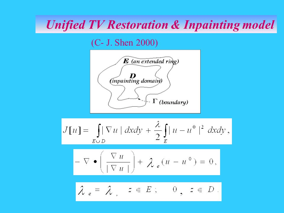 Unified TV Restoration & Inpainting model
