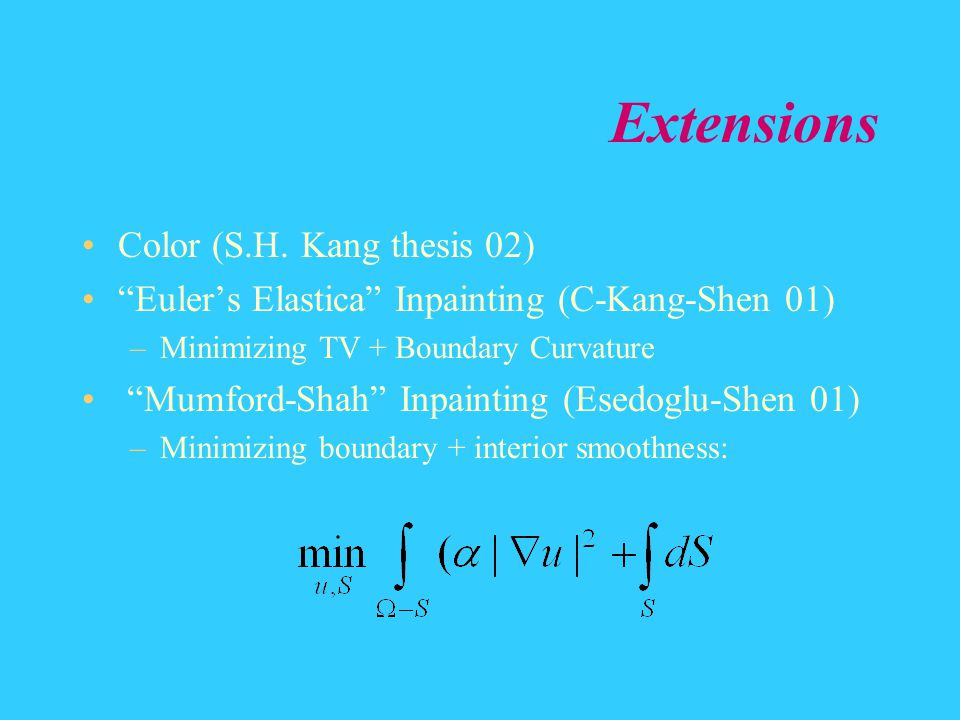 Extensions Color (S.H. Kang thesis 02)