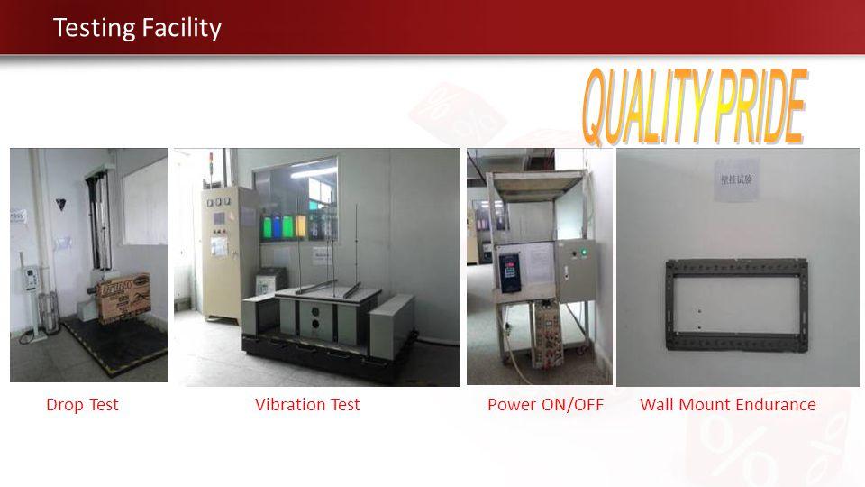 QUALITY PRIDE Testing Facility