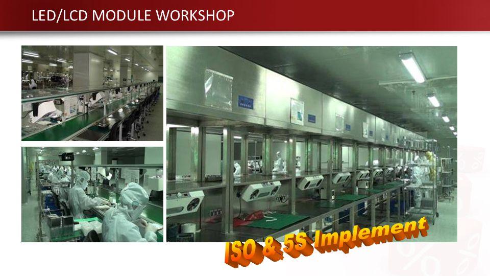 LED/LCD MODULE WORKSHOP