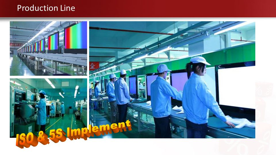 Production Line ISO & 5S Implement