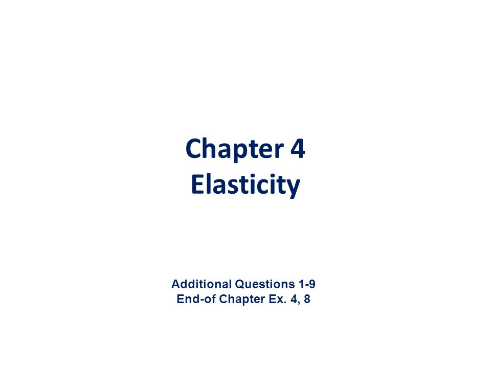 Additional Questions 1-9