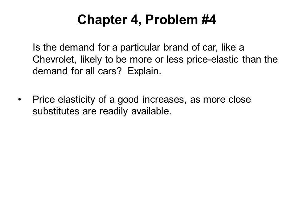 Chapter 4, Problem #4