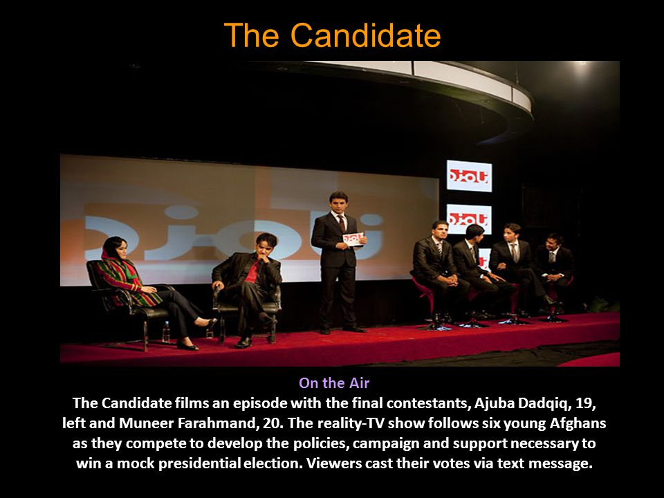 The Candidate On the Air