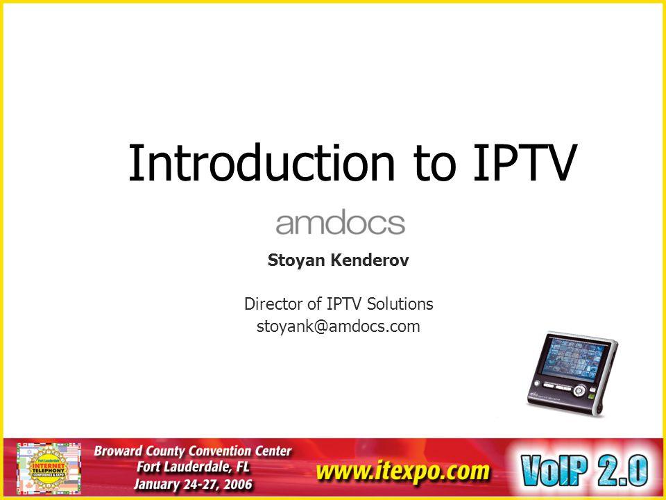 Director of IPTV Solutions