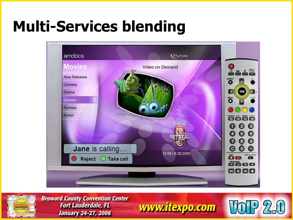 Multi-Services blending