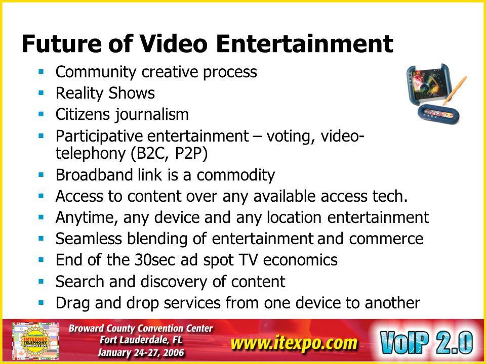 Future of Video Entertainment