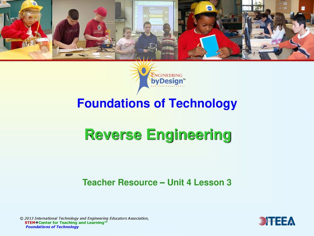 Foundations Of Technology Reverse Engineering Ppt Download