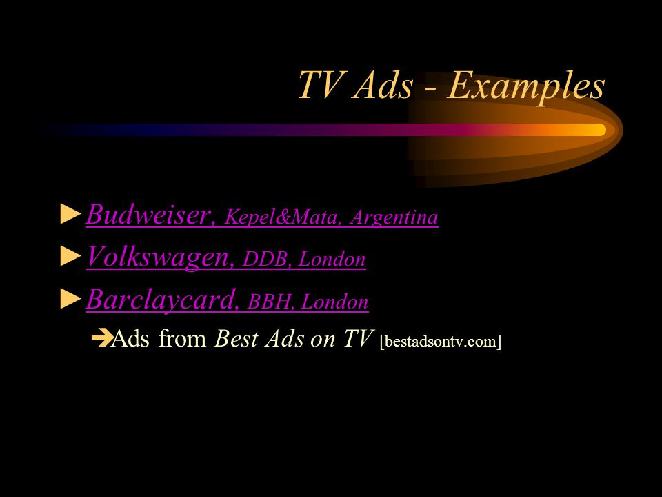 the characteristics of a good tv commercial A tv commercial is a fundamental form of advertising that is broadcasted through the television to market a product or effectively reveal the product or service's characteristics to a specific demographic or consumer base.