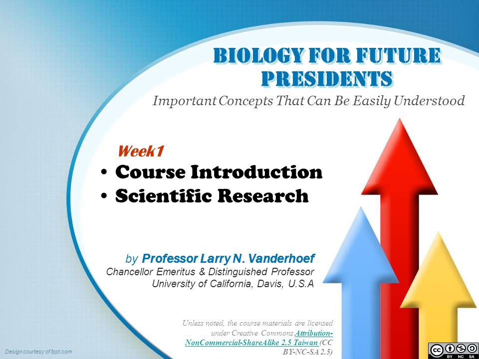 Biology for Future Presidents