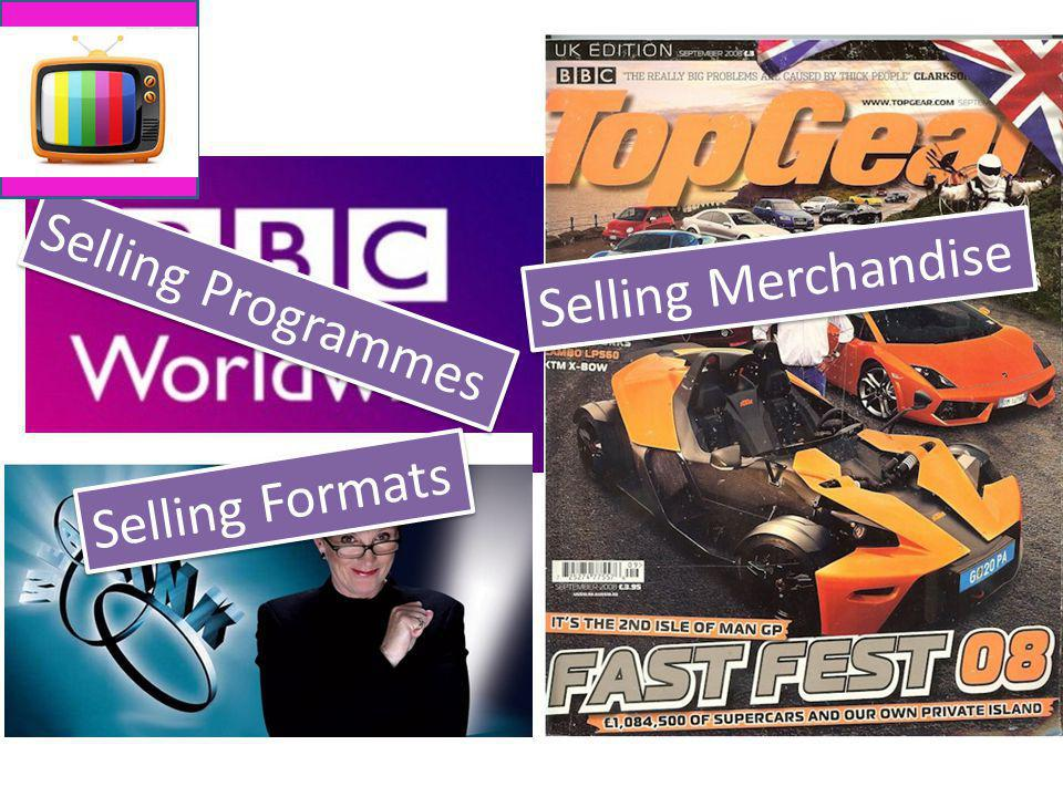 Selling Merchandise Selling Programmes Selling Formats