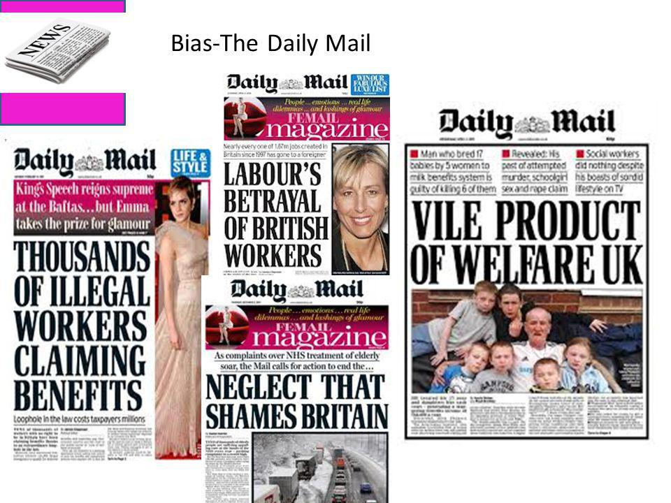 Bias-The Daily Mail