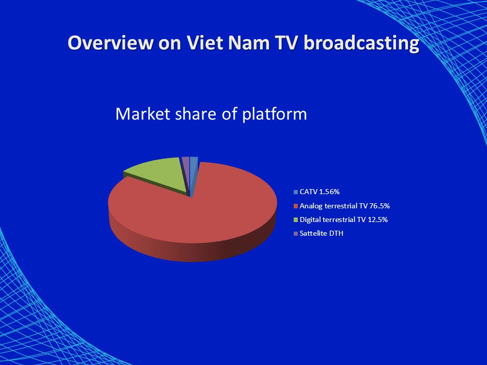 Overview on Viet Nam TV broadcasting