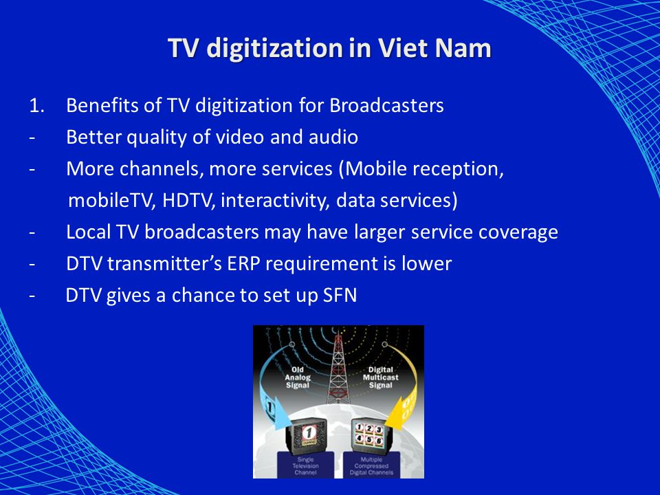 TV digitization in Viet Nam