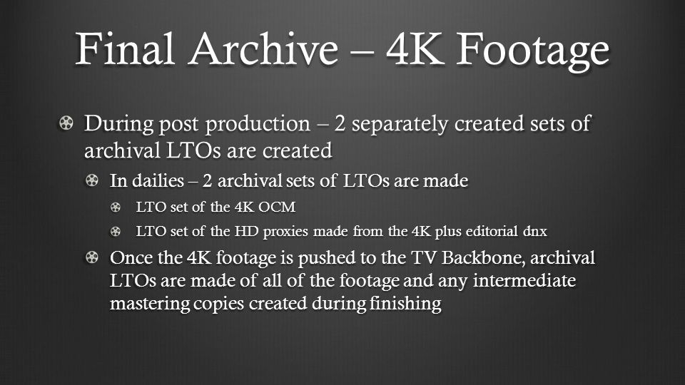 Final Archive – 4K Footage