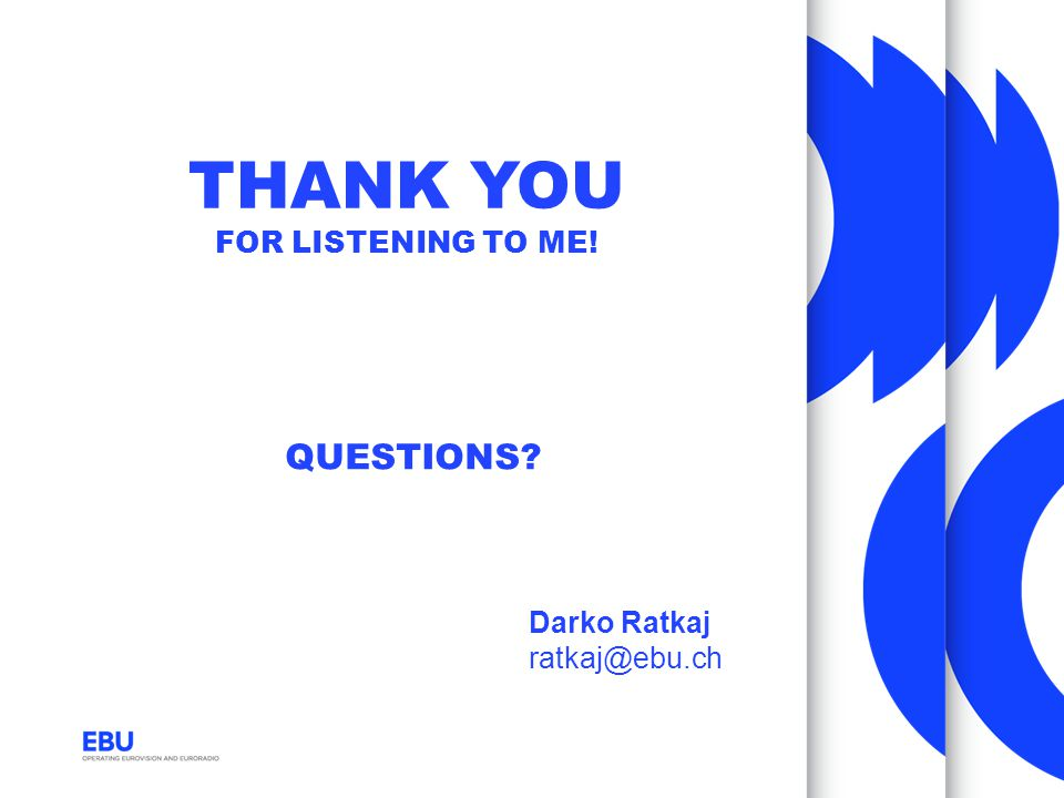 thank you for listening to me!
