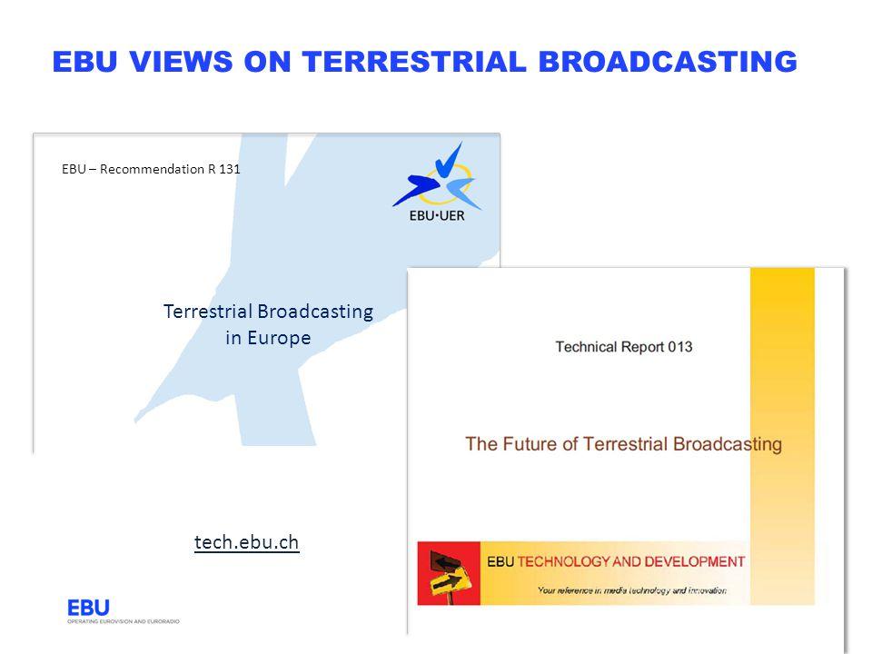 ebu views on terrestrial broadcasting