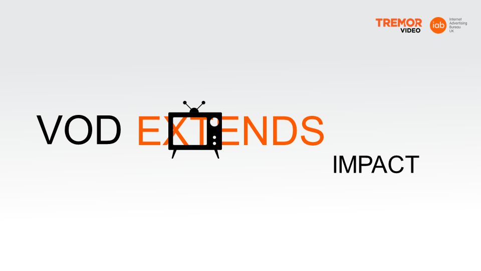 EXTENDS VOD IMPACT VOD extends TV s impact