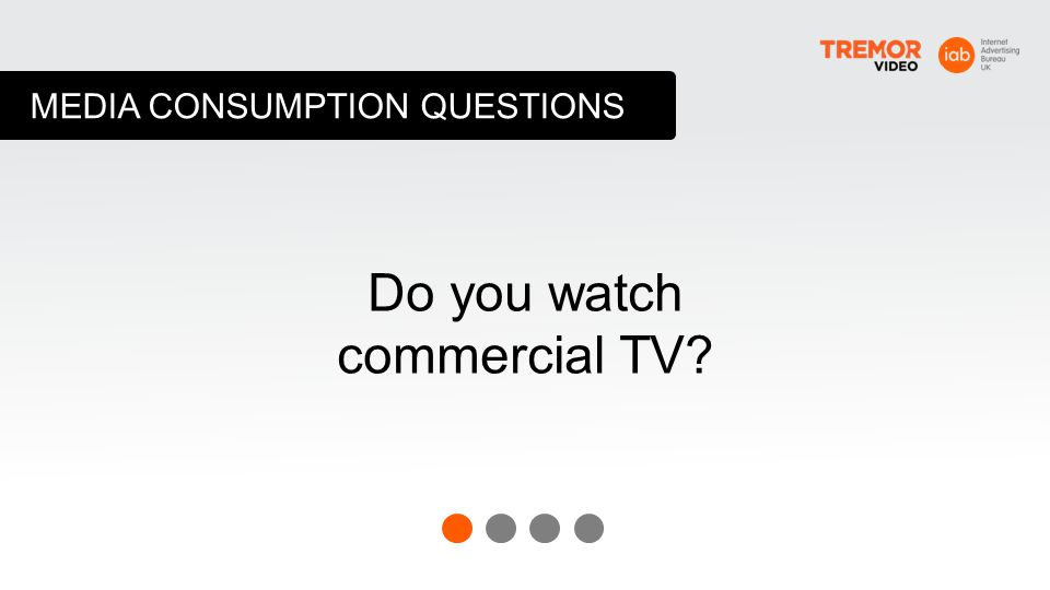 Do you watch commercial TV