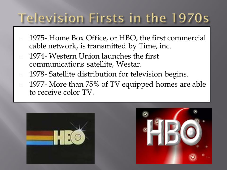 Television Firsts in the 1970s