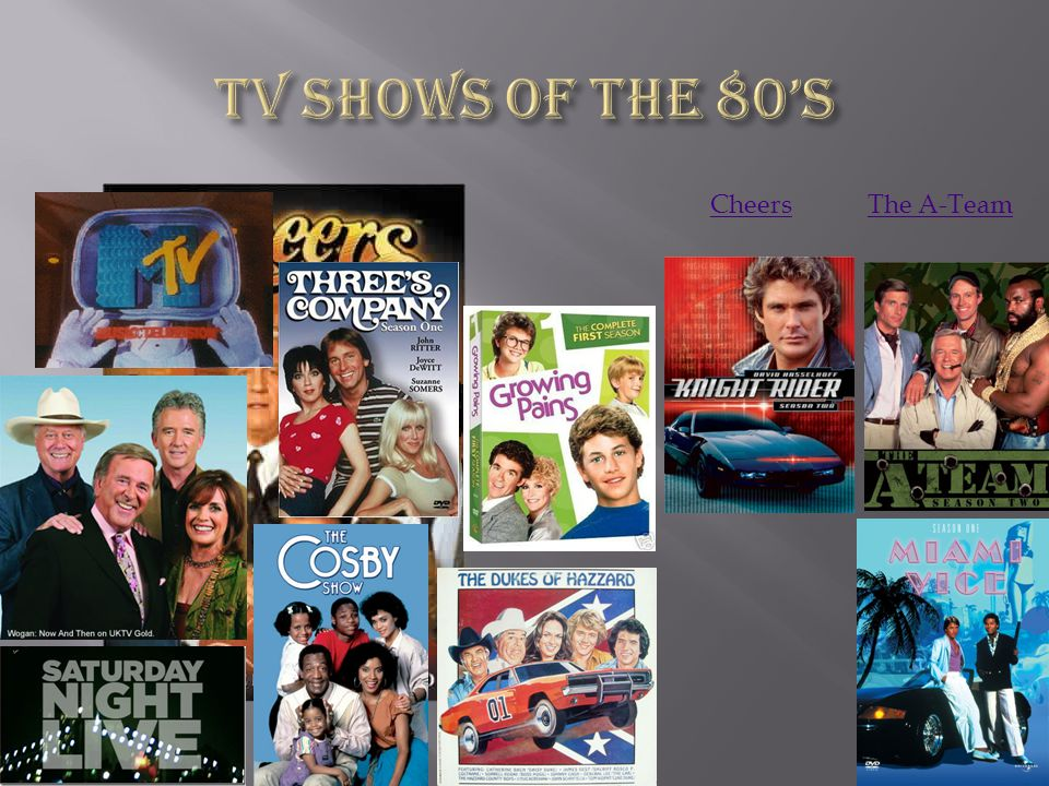 TV Shows of the 80's Cheers The A-Team