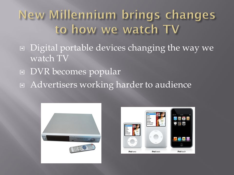 New Millennium brings changes to how we watch TV