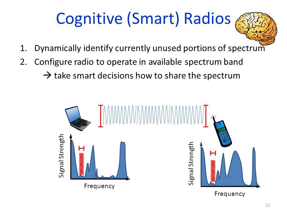 Cognitive (Smart) Radios