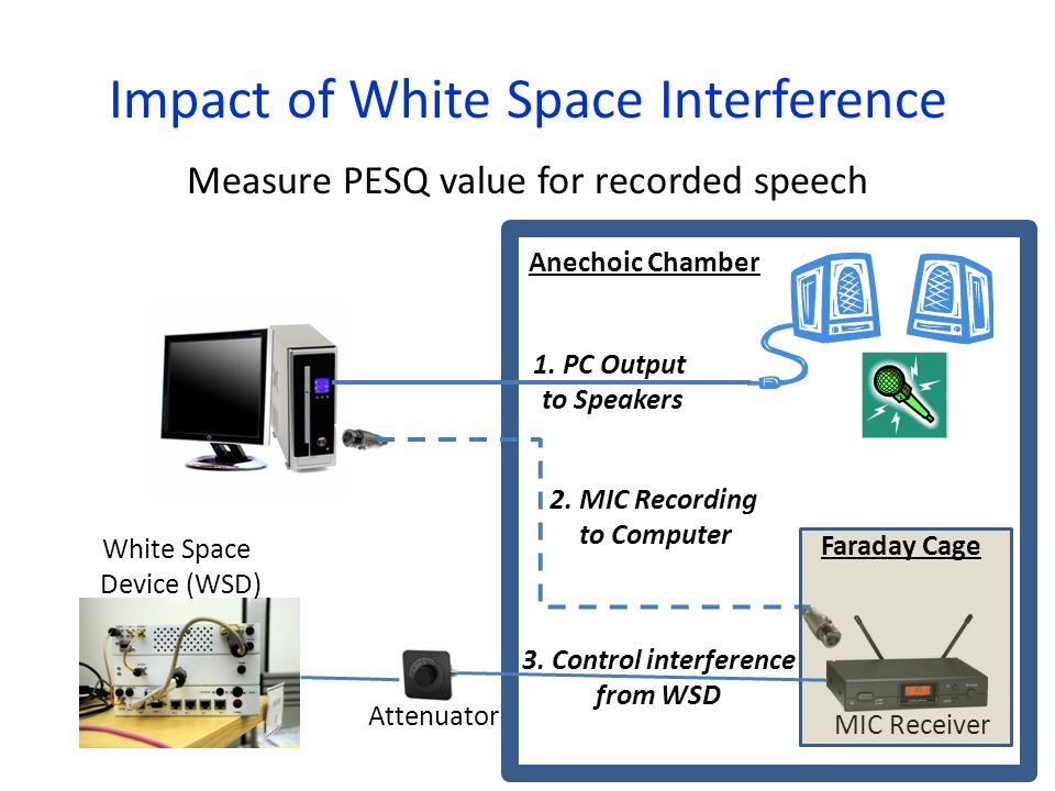 Impact of White Space Interference