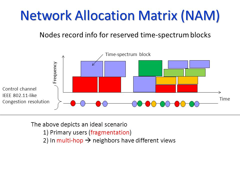 Network Allocation Matrix (NAM)